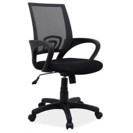 Kancelářská židle v černé barvě KN060