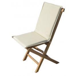 Židle skládací s polstrem BRISBANE