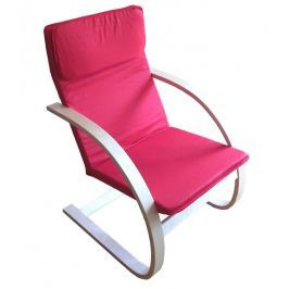 Pohodlné relaxační křeslo v červené barvě F190