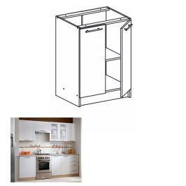 dolní skříňka, dub sonoma / bílá, MONDA S60