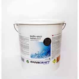 HANSCRAFT BAZÉN - MULTI tablety 3v1 - 2,4 kg