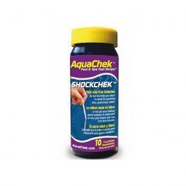 AquaChek testovací proužky - volný chlór
