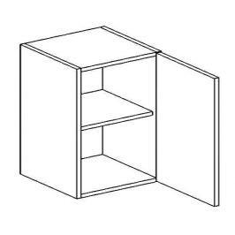 W60/56 horní skříňka KN1810 D/B pravá