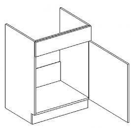 D60ZL d. skříňka pod dřez KN1810 D/B pravá