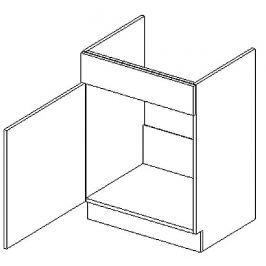 D60ZL d. skříňka pod dřez KN1810 D/B levá