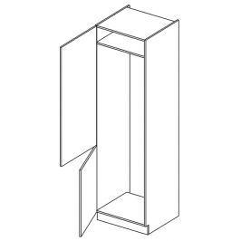 D60LO skříňka na vestavnou lednici KN1810 D/B levá