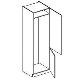 DL60P skříňka na vestavnou lednici SANDY STYLE