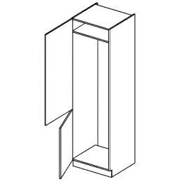 DL60L skříňka na vestavnou lednici NORA hruška