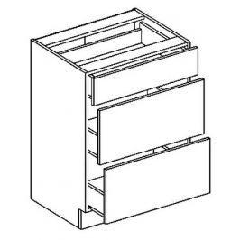 D60S3 dolní skříňka se zásuvkami KN407