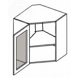 WR60WL h. vitrína rohová MERLIN mraž. sklo