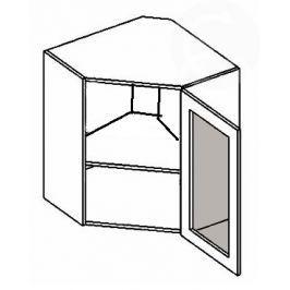 WR60WMR h. vitrína rohová NORA de LUX hruška mraž. sklo