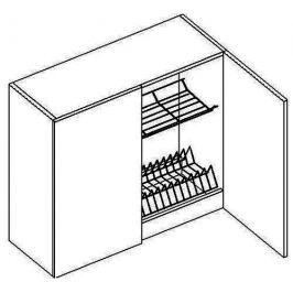 W80SU h. skříňka s odkapávačem NORA de LUX hruška