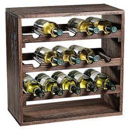 Stojan na víno borovice tmavý E251