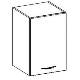 Horní skříňka pravá 40 cm v krémovém lesku typ W40 KN414