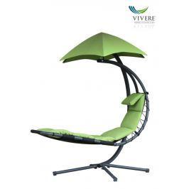 Závěsné houpací lehátko Vivere Original Dream Chair, zelená