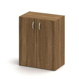 Skříňka nízká + zámek, bardolino tmavé, TEMPO AS NEW 011