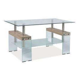 Konferenční stolek KAREN - dub sonoma