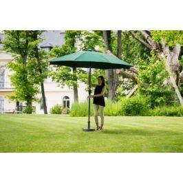 Slunečník hliníkový zahradní zelený 350 cm DF-003427