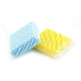 BRILANZ Sada houbiček, 2 ks, žlutá a modrá