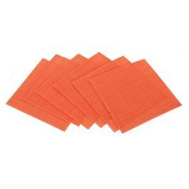 BANQUET Sada prostírání CULINARIA Orange 10 x 10 cm, 6 ks