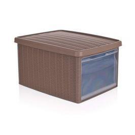 Multi.ratan box 15L sv hnědý