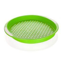 BANQUET Tác protiskluzový plastový prům. 40 x 4 cm, zelený