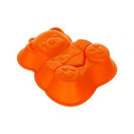 BANQUET Forma silikonová CULINARIA Orange 14,2 x 12,3 x 3,5 cm, medvídek