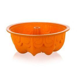 BANQUET Forma na bábovku silikonová CULINARIA Orange 25 cm, s reliéfem