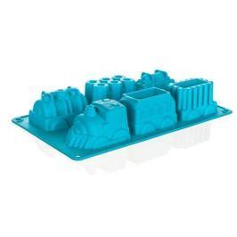 BANQUET Forma silikonová CULINARIA Tyrkys 29,5 x 17,3 x 4,3 cm, vláčky