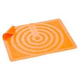BANQUET Vál silikonový CULINARIA Orange 50 x 40 cm, měřítkový reliéf