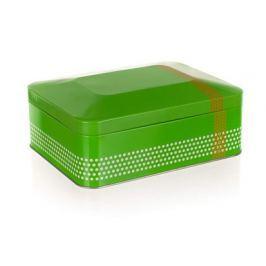 BANQUET Plechovka EVERY DAY 20 x 15,5 x 8 cm, box na čaj