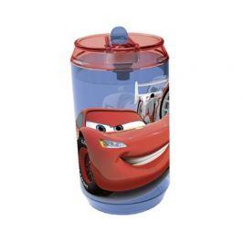 Láhev plastová s brčkem CARS 410 ml
