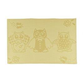 Prostírání OWLS Yellow 45 x 30 cm