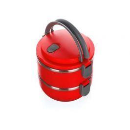 BANQUET Jídlonosič plastový CULINARIA Red 1,4l, 2 díly