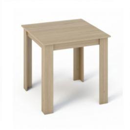 Klasický jedálenský stůl v dekoru dub sonoma TK043