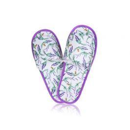 Pantofle domácí dámské (26-28 cm) nebo pánské (29-32 cm) LAVENDER