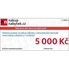 Dárkový poukaz v hodnotě 5 000 Kč