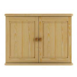 Dřevěná praktická komoda na stěnu typ WK108 KN095
