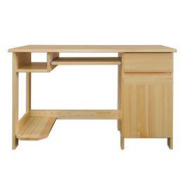 Dřevěný pracovní stůl se zásuvkou typ RB117 KN095