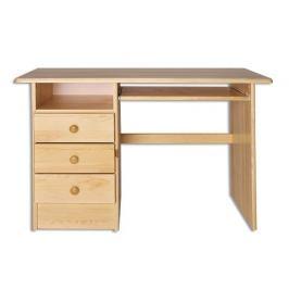Dřevěný pracovní stůl se zásuvkami typ RB103 KN095
