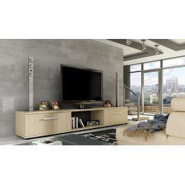 Moderní televizní stolek v dekoru dub sonoma KN107