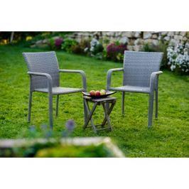 Zahradní set 2+1 v elegantním šedém provedení BARCELONA DF-010371