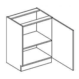 Dolní skříňka pravá 60 cm dub sonoma typ D60 KN393