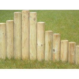 Kůl dřevěný 75x6 cm palisáda se špicí