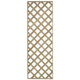 Dřevěná mříž 60x180 cm
