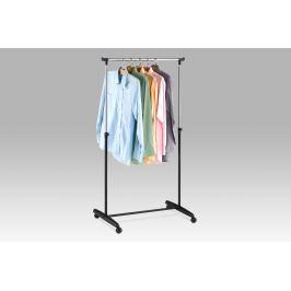 Stojan na šaty chrom / černá ABD-1201 BK