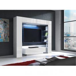 Luxusní televizní stěna s LED osvětlením TK2253