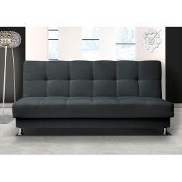 Pohodlná pohovka s úložným prostorem v barvě grafit F1303