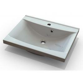 Bílé umyvadlo 80 cm do koupelnových sestav KN487 a KN488