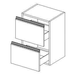 Dolní skříňka do koupelny 40 cm s možností výběru barvy typ D40S2 KN487